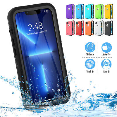 AU11.99 • Buy Waterproof Tough Shockproof Case Cover For Apple IPhone 13 12 11 Pro Max XS XR