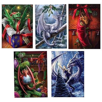 Anne Stokes Yule Midwinter Solstice Greeting Card Alternative Christmas Fantasy • 3.25£