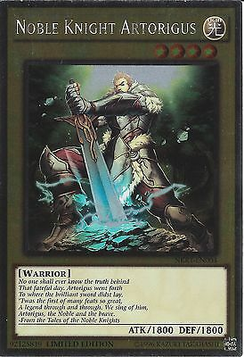 Yu-gi-oh: Platinum Rare - Noble Knight Artorigus - Nkrt-en003 - Limited Edition • 0.99£
