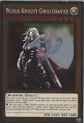 Yu-gi-oh: Platinum Rare - Noble Knight Gwalchavad - Nkrt-en007 - Limited Edition • 0.99£