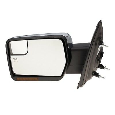 $713.88 • Buy 2011-2014 Ford F150 LH Drivers Side Chrome Power Fold Mirror OEM NEW Genuine