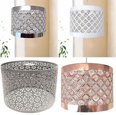 £16.95 • Buy Easy Fit Moda Sparkly Ceiling Pendant Light Shade Fitting Modern Decoration New