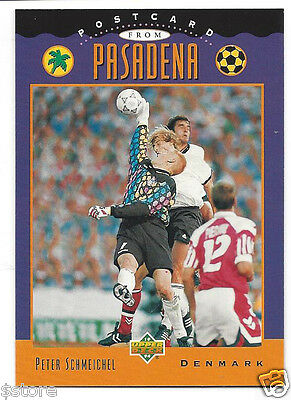 £10.73 • Buy RARE Special '94 WC Upper Deck Trading PostCard Of Denmark's Peter Schmeichel
