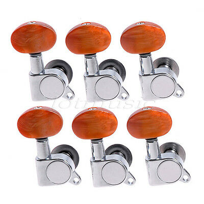 $15.99 • Buy 6R Electric Acoustic Guitar String Inline Tuning Pegs Keys Tuners Machine Heads