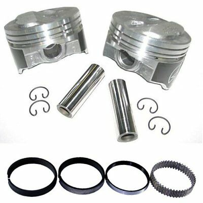 AU281.58 • Buy Speed Pro H634CP40 Chevy 400 408 .200 Dome Hyper Pistons & Moly Ring Kit 040 SBC