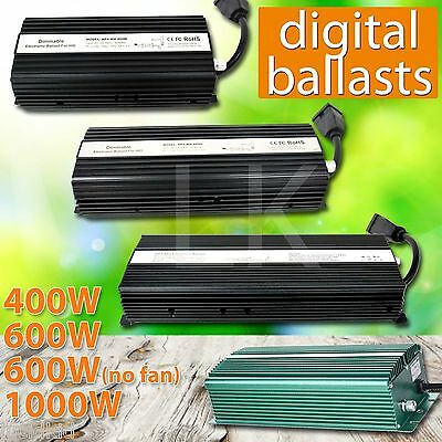 1000W 600W 400W 240V 120V HPS MH Grow Room Hydroponic Dimmable Digital Ballast  • 98.56£