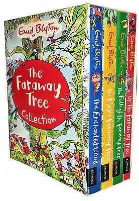 £15.85 • Buy Enid Blyton's The Magic Faraway Tree Collection 4 Books Set New Childrens Books