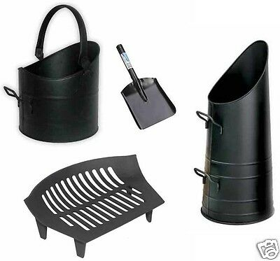 Coal Hod Scuttle Bucket For Fireplace With Handle Shovel Fireside 10  Chiltern • 15.95£