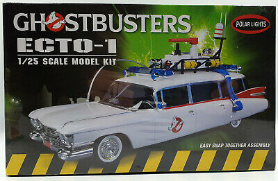 Ghostbusters : 1/25 Scale Ecto-1 Model Kit Made By Polar Lights In 2013  • 40£