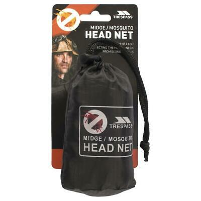 Trespass Mosquito Head Net Repellent Insect Midge Pack One Size  • 3.95£