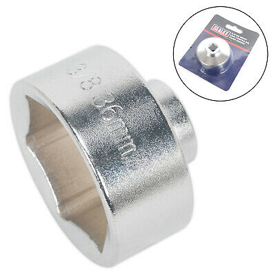 View Details Sealey SX114 Low Profile Oil Filter Socket 36mm 3/8  Sq. Drive Oil Filter Wrench • 5.85£