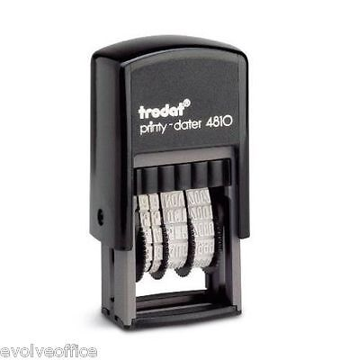 £8.35 • Buy Date Stamp - Self Inking Rubber Stamp - Mini Dater 4810 - Trodat - 70169 050940
