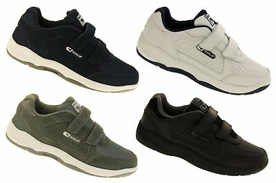 £29.95 • Buy Mens GOLA WIDE FIT EE LEATHER Adjustable Trainers Size 7 8 9 10 11 12 13 14 15