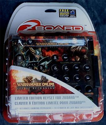 £7.20 • Buy SteelSeries Warhammer Online: AoR Limited Ed Gaming Keyset For Zboard - NEW