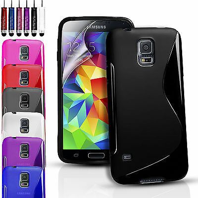 £1.99 • Buy S-line Wave Gel Case Cover For Various Phones & Free Screen Protector