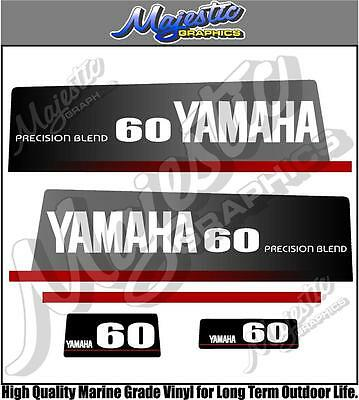 AU68 • Buy YAMAHA - 60hp - PRECISION BLEND - OUTBOARD DECALS