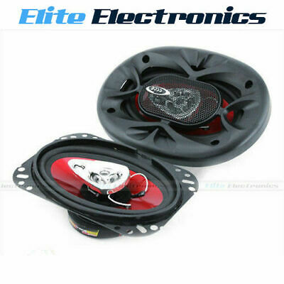 AU49.85 • Buy BOSS AUDIO CH4630 4x6  CHAOS 3-WAY 250W MAX STEREO COAXIAL CAR SPEAKERS 4  X 6