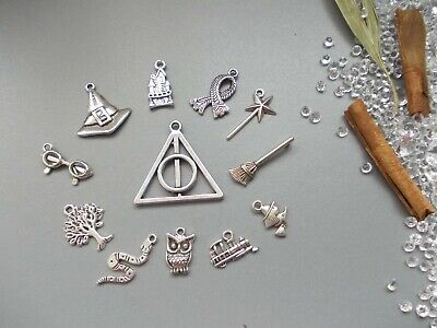 12 X Mixed Pack Inspired By Harry Potter Tibetan Silver Charms,Pendant Jewellery • 2.99£