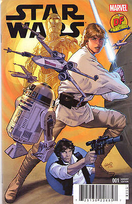 STAR WARS #1 (2015) - Dynamic Forces - VARIANT Cover • 16.99£