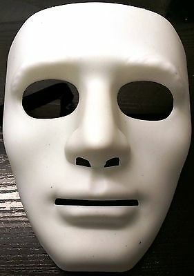 £5.99 • Buy Robotic Costume Mask Guy Fawkes Anonymous Halloween Cosplay Party Fancy Dress W