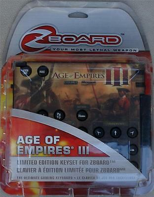 £7.20 • Buy Steelseries / Ideazon Age Of Empires 3 Limited Ed Gaming Keyset For Zboard - NEW
