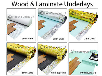 Wood / Laminate Flooring Underlay - Sonic Gold - Acoustic - Silver - XPS, Vapour • 19.50£