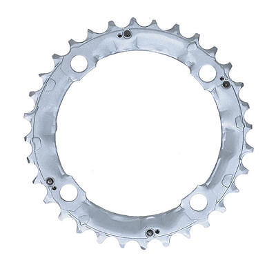 Shimano 32T Mega 9 Speed Chainring Deore FC-M510 M440 Silver Y1DS98010 104mm BCD • 14.20£