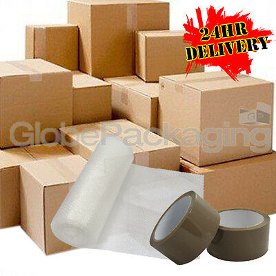 NEW *20 X LARGE Cardboard House Moving Boxes - Removal Packing Box *OFFER* 24HRS • 17.75£