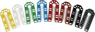 100mm X 43mm PLASTIC PACKERS SPACERS (1 - 10mm Available) - Pack Of 50 • 4.69£