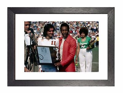 George Best And Pele The Best Poster Irish Footballer Manchester Winger Picture • 19.99£
