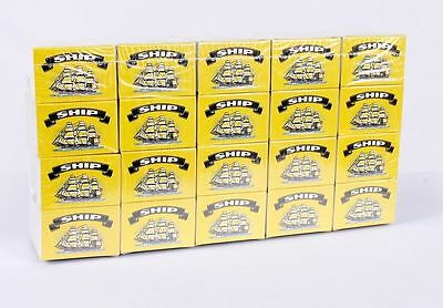 100 Boxes Of SHIP Safety Matches Candles Camping Cooking BBQ Lighter • 8.99£