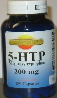 AU22.44 • Buy 5-HTP  200mg Large Bottle  180 Capsules  Weight Management  Mood Serotonin FRESH