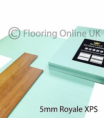 XPS Underlay- Laminate Or Wood Flooring - 5mm - Like Fibreboard - Insulation • 14.99£
