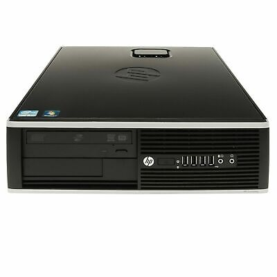 AU129 • Buy HP Compaq 8200 Elite SFF Intel I5-2400 3.1Ghz 4GB Ram 250GB HDD Win 10 Pro