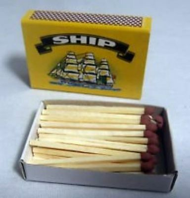 10 Boxes Of SHIP Safety Matches Candles Camping Cooking BBQ Lighter • 3.50£