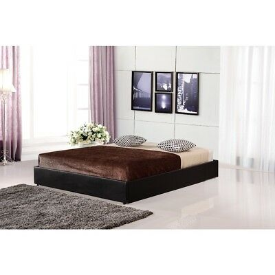 AU235.75 • Buy PU Leather Double Bed Ensemble Frame Bedroom Furniture