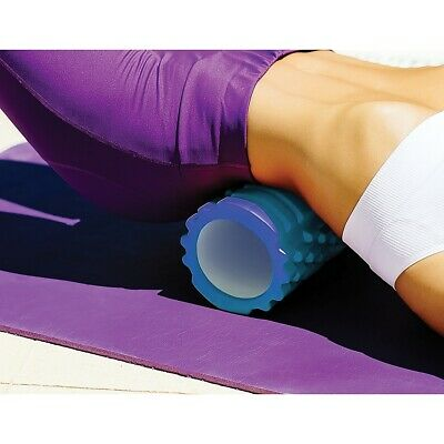 AU27.95 • Buy Commercial Foam Roller Deep Tissue Pilates Yoga Back Pain Stretching Half Size