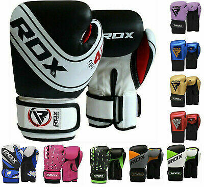 $ CDN38.99 • Buy RDX 6oz Kids Boxing Gloves Children Punching Fighting Junior MMA Training CA
