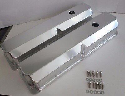 $124.95 • Buy FORD FE 352,360,390,427,428 TALL Fabricated ANODIZED ALUMINUM Valve Covers-BOLTS
