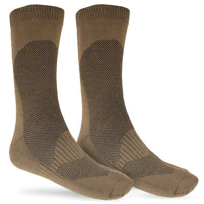 £9.95 • Buy Coolmax Cadet Summer Military Army Combat Hiking Hot Warm Weather Boot Socks Tan