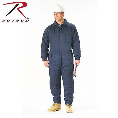 $92.99 • Buy Rothco 2025 Insulated Coveralls - Navy Blue