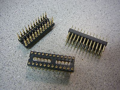 $7.99 • Buy Board To Board Screw Machine DIP Header Connector 24-Pin Dual Row 2.54mm Qty.3
