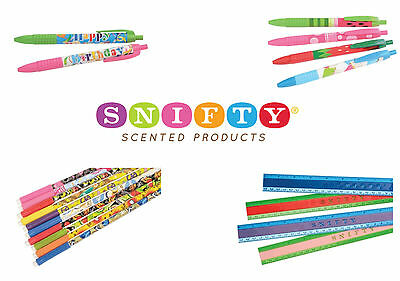 SNIFTY Scented Pens, Pencils & Rulers • 2.99£