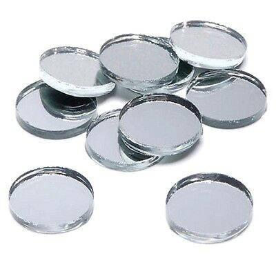 £13.79 • Buy Crafting Mirrors Round Circle Mosaic Mirror Tiles - Several Sizes Available
