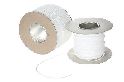 Washable Piping Cord- Upholstery -soft Furnishing-3/4/5/6mm - White -5/10/25/50m • 3.35£