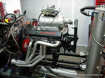 383ci Small Block Chevy Blown Pro-Street Engine 575hp+ Built-To-Order Dyno Tuned • 10,687.50$