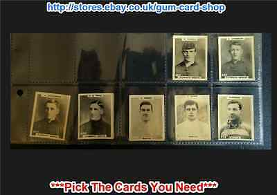 Footballers Address: Pinnace 1922 (cards 201-250) (g) *please Select* • 1.10£