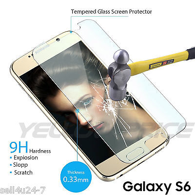 $ CDN2.99 • Buy New Real Tempered Glass Screen Protector Film For All SAMSUNG Galaxy S 6 S6 S VI