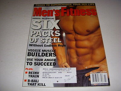 $ CDN15.71 • Buy MEN'S FITNESS Magazine, March, 2001, SIX PACK ABS, RUSTY JOINER COVER MODEL!