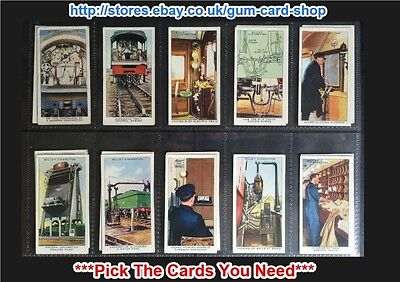 £0.99 • Buy Wills - Railway Equipment 1938 (g/f) ***pick The Cards You Need***